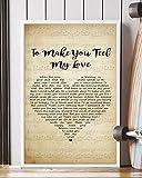 Trendora Decor to Make You Feel My Love Song Lyrics...