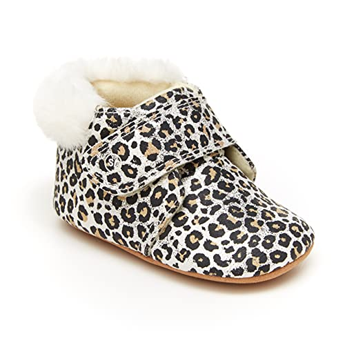 Stride Rite Baby-Girl's Miles Crib Shoe, Leopard, 3 Infant
