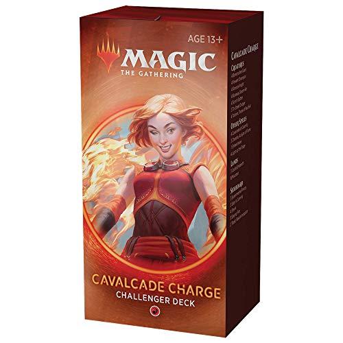 Cavalcade Charge Deck   Magic: The Gathering Challenger Deck 2020   Pronto para torneios   75 cartas + fichas