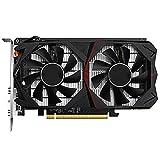 GUANYUA Tarjeta Gráficos GTX960 4G DDR5 128BITS Tarjetas Video Tarjetas Gráficas Soporte DP + HDMI + DVI-D con Refrigeración por Ventilador, PCI-E3.0 GTX960/4G