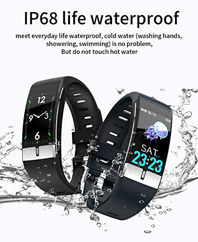 Pulsera de Actividad inteligente IP68 con medición de temperatura corporal para hombres y mujeres, con WhatsApp de… 5