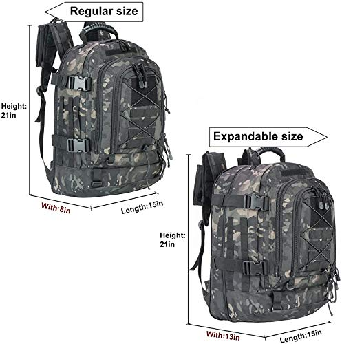WolfWarriorX Military Tactical Hiking Backpack
