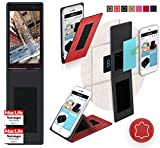Cover for Ulefone Be Touch 3 Case | in Red Leather |