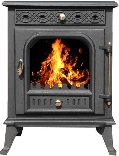 Eco Products Worldwide Limited - Stufa a legna multi combustibile, 7,5 kW