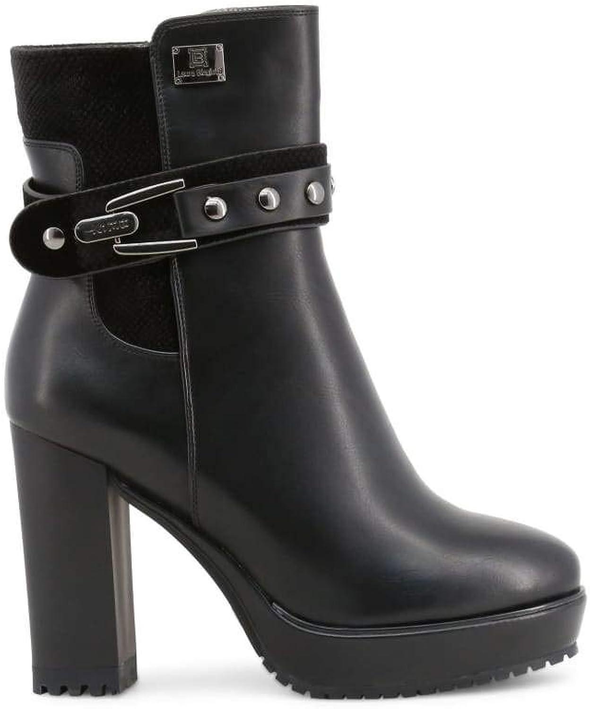 Laura Biagiotti Damen Stiefeletten Schwarz, Modell  5124L    Billig ideal    Leicht zu reinigende Oberfläche