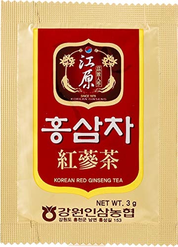 江原人蔘農協『紅蔘茶』