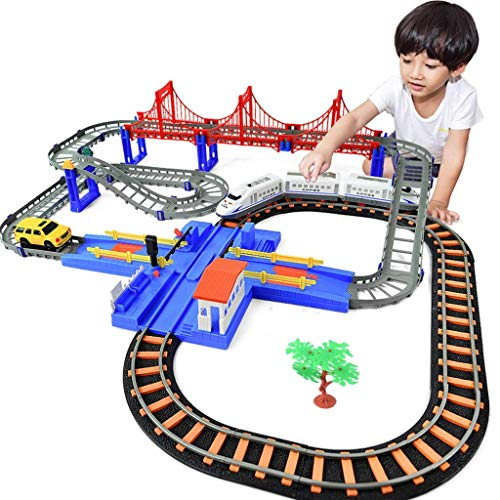 Best Buy! Learning & Activity Toys Educational Children's Toys Electric high-Speed Rail Toys Rail ca...