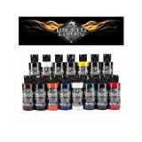 Pintura Aerografia Createx Wicked Dru Blair Set 60ml.