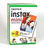 Fujifilm 16386016Instax 5x 20Mini película para cámara Color Blanco