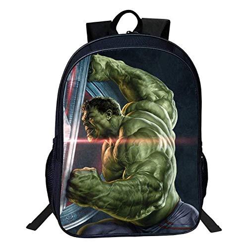 Children backpack Kinder Rucksäcke - 3D Hulk Printing Kids School Bag Leicht-Rucksack Für Boysand Mädchen - Geschenk - Saison School Geschenke A