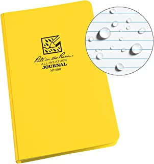Rite in the Rain Weatherproof Hard Cover Notebook, 4 3/4