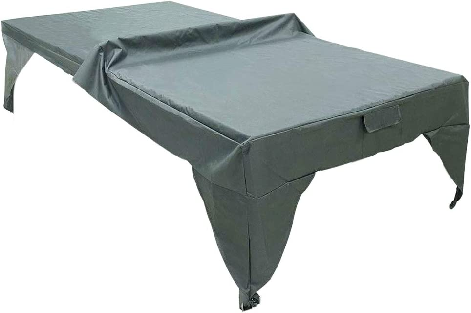 280 x 153cm x 73cm StepOK Table Tennis Cover Indoor Outdoor UV and Weather Resistant Waterproof Ping Pong Table Protector