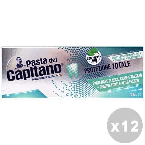 Kapitän Bio tandpasta bescherming in totaal – verpakking van 12 x 100 g