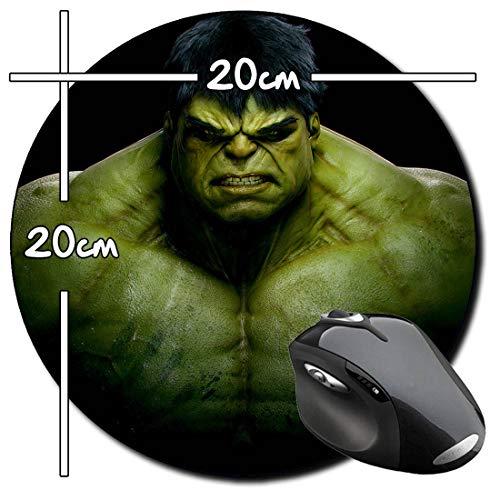 El Increible Hulk The Incredible Hulk C Alfombrilla Redonda Round Mousepad PC