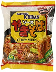 Yakisoba Cooks in 3 minutes Pack of twenty four, 3.6-ounces per pack (total of 86.4 ounces) Japanese style noodles With natural and artificial flavors Quick cooking Pack of twenty four, 3.6-ounces per pack (total of 86.4 ounces) Japanese style noodle...