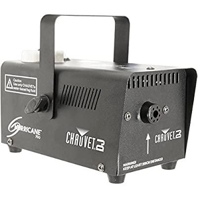 CHAUVET DJ Hurricane 700 Fog Machine w/Wired Remote and Fog Machine Fluid