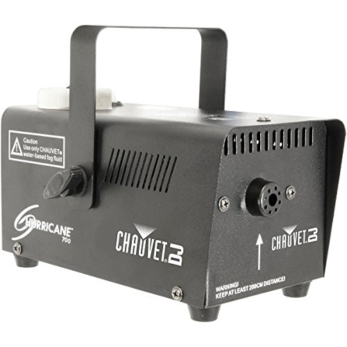 Chauvet Lighting Chauvet DJ 700 Hurricane Fog Machine, BLACK (H700)