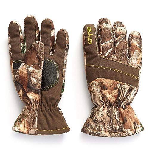 HOT SHOT Youth Boy's Camo Defender Glove – Realtree Edge Outdoor Hunting Camouflage Gear