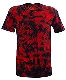 Chameleon Clothing Camiseta Tie Dye Festival Red Scrunch