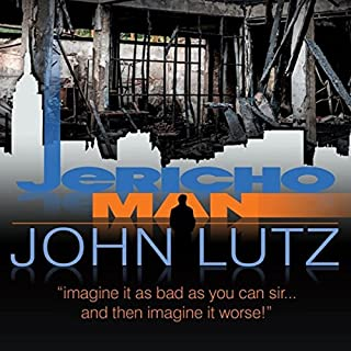 Jericho Man audiobook cover art