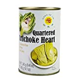GONG DE LIN Quartered Artichoke Hearts Keto, Vegan, Paleo, Non GMO, Low Carb, Low Calorie, Gluten Free, Marinated, Steamed, Gourmet, Healthy, Natural, 14.1 Ounces (pack of 1)