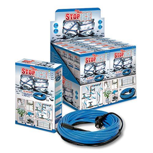 Raytech - STOPICE18/12 - Kit de cable calefactor de potencia constante, 216 W x 18 metros
