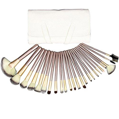 La Haute Qualité supérieure professionnelle poignée en bambou pinceaux de maquillage