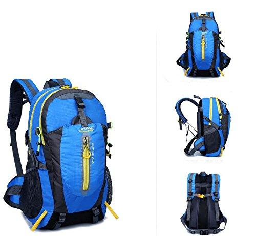 Imperméable à l'eau multifonctionnel sports de plein air sacs à dos sacs de sport outdoor alpinisme sac sport voyage épaule , blue