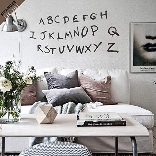 Stranger Things - Adhesivo decorativo para pared, diseño de