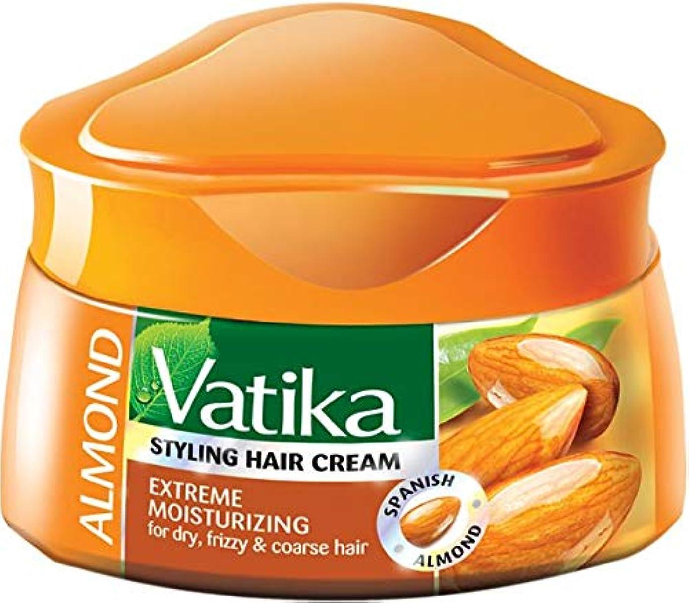 エリートパキスタン人背骨Dabur Vatika Natural Styling Hair Cream 140 ml (Extreme Moisturizing (Almond))