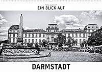Ein Blick auf Darmstadt (Wandkalender 2022 DIN A2 quer): Ein ungewohnter Blick auf Darmstadt in harten Schwarz-Weiss-Bildern. (Monatskalender, 14 Seiten )