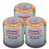 Coleman 3 x C500 Schraubkartusche 440 g Válvula Gas Cartucho Cocina Butano Propan