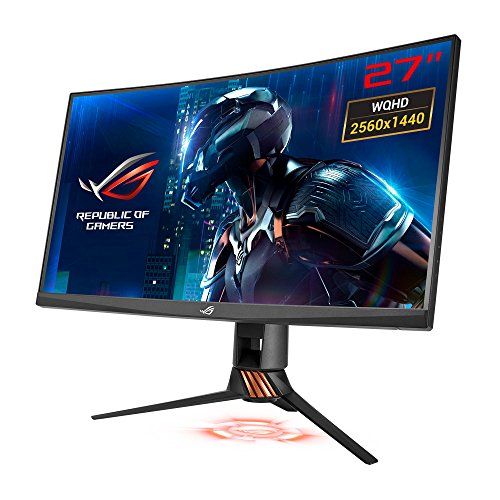 ASUS PG27VQ 27' Wide Quad HD TN Negro Pantalla para PC - Monitor (68,6 cm (27'), 2560 x 1440 Pixeles, LED, 1 ms, 400 CD/m², Negro)