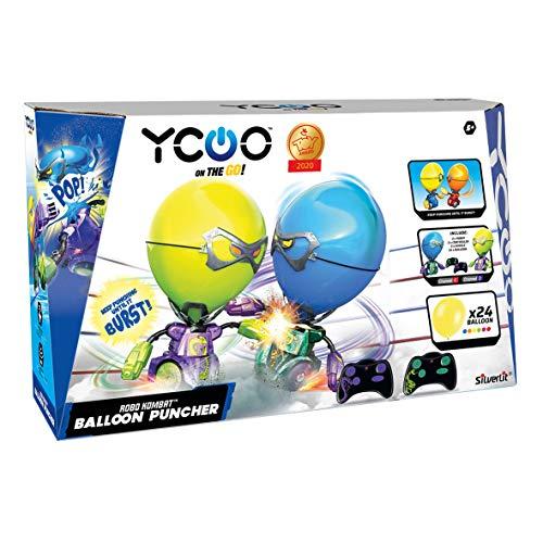 SilverLit - Kombat balloon, robot per battaglie di palloncini, confezione doppia, ideale come regalo per bambini (88038)