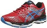 ASICS Gel-Nimbus 17 - Zapatillas de deporte para hombre, color rojo (fiery red/turquoise/black), talla 46 EU (10.5 UK)