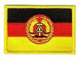 Flaggen Aufnäher Patch DDR - NVA Volksarmee Fahne Flagge