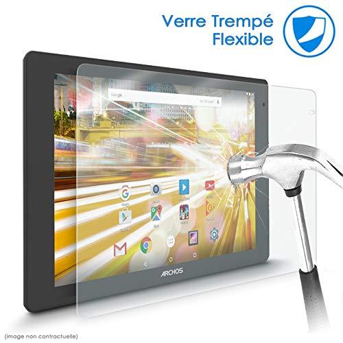 KARYLAX Protection d'écran Film en Verre Nano Flexible pour Tablette Archos 101d Neon 10.1 Pouces