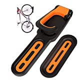 Bike Rack for Garage, Bike Wall Mount - Vertical Indoor Storage Adjustable Bikes Hanger In Home, Safe and Secure Easy Install Cycling Holder, Bicycle Hooks for Hanging Mountain, Road, Hybrid Bicycles