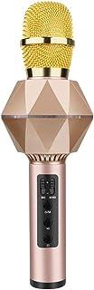 FMOGE Micrófono Karaoke, Teléfono Móvil Micrófono para Cantar K7 Inalámbrico Bluetooth Viene con Micrófono De Mano De Audi...