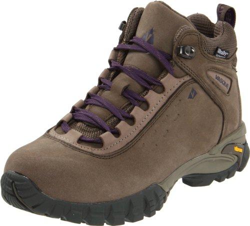 Vasque Women's Talus Waterproof Hiking Shoe, Bungee Cord/Purple Plumeria,8.5 M US