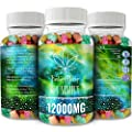 Fantasy Organic Hemp Gummies 12000MG -150MG Per Gummy Bear with Premium Hemp Extract | Natural Candy Supplements for Pain, Anxiety, Stress & Inflammation Relief | Promotes Sleep & Calm Moo