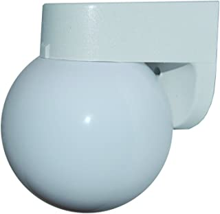 Polymer Products 1520-00600-GI Incandescent White Wall Bracket with White 6