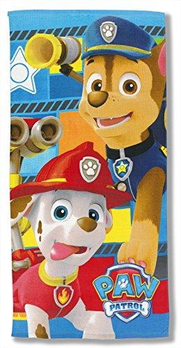 La Patrulla Canina - Toalla de Playa Paw Patrol Marshal Chase (Algodón)
