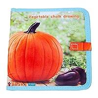 WDX- ブックマイファーストソフトベビーブック親子学習おもちゃ教育赤ん坊の子供のクリスマスビジーブックを静か いい結果になる (Color : D)