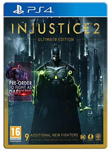 PS4 - Injustice 2 (Ultimate Edition) (1 GAMES)