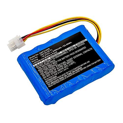 subtel® Premium Akku 18.5V, 3400mAh, Li-Ion kompatibel mit Gardena Sileno/kompatibel mit Husqvarna Automower 310 Ersatzakku 584 82 28-01, 584 85 28-01, 584 82 28-01, 589 58 62-01 Werkzeugakku