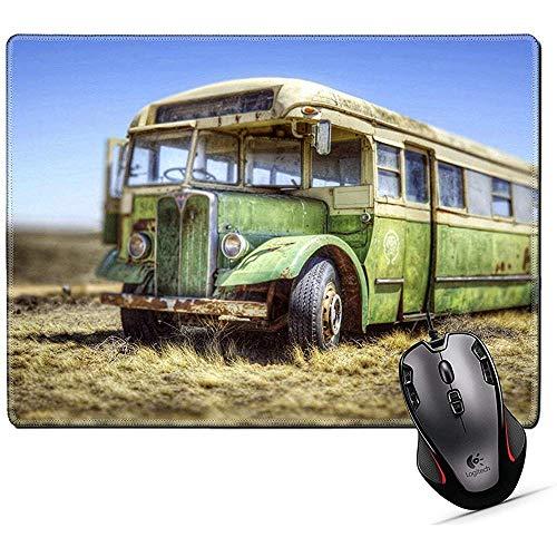 Muis Pad, Muis Mat voor Bus auto Vervoer Reizen Oude Caoch Transport Drive Retro Road Openbaar Voertuig