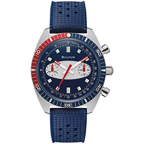 Bulova Archive Series Surfboard - 98A253 Blue One Size