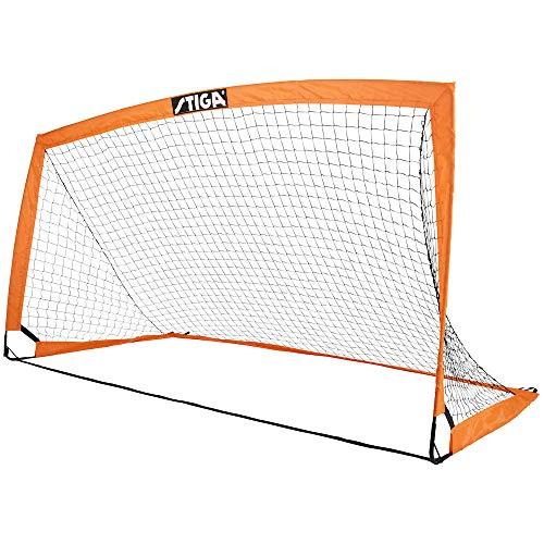 STIGA Match Fotbollsmål för Barn, orange/svart 200 x 100 x 100 cm