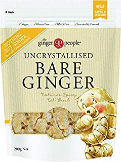 THE GINGER PEOPLE Uncrystallised Bare Ginger, 200g